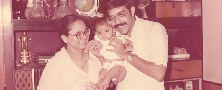 moi, with mom and dad